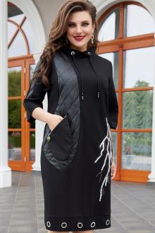Платье Vittoria Queen 14313 черный