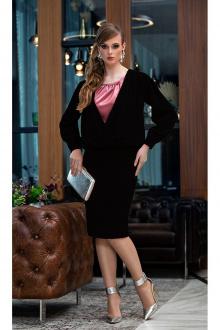 Комплект Diva 1355-2 черный+розовый