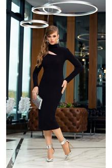 Платье Diva 1356 черный