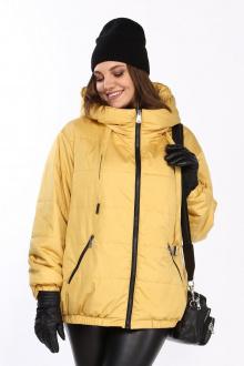 Куртка Lady Secret 6314 горчица