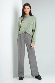 Комплект Viola Style 20579 зеленый_-_серый