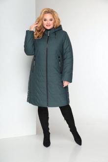 пальто Shetti 2027 зеленый