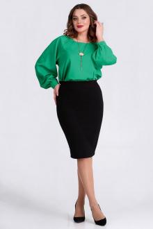 блуза Таир-Гранд 62368 изумруд