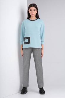 Комплект Viola Style 20580 мятный_-_серый