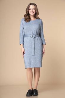 Платье Romanovich Style 1-2245 серо-голубой