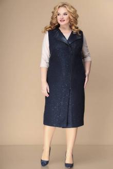 Комплект Romanovich Style 3-2212 синий/беж