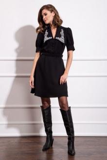 Платье Nova Line 50123 белый_воротник