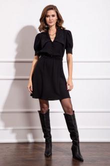 Платье Nova Line 50123 черный_воротник
