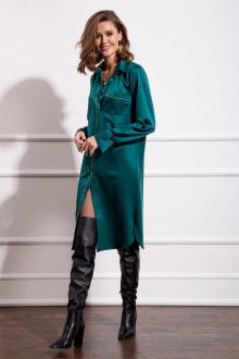 Платье Nova Line 50157 изумруд
