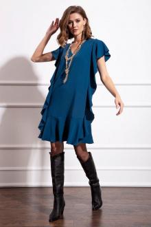 Платье Nova Line 50166 темно-лазурный