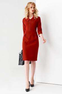 Платье Панда 53080z терракотовый