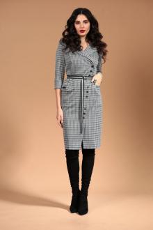 Платье Твой имидж 1418 серый