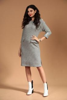 Платье Твой имидж 1446 серый