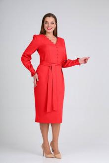 Платье Vilena 653 красный