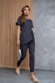 Женский костюм Daloria 9095 серый
