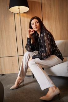блуза MALI 621-111 чёрный