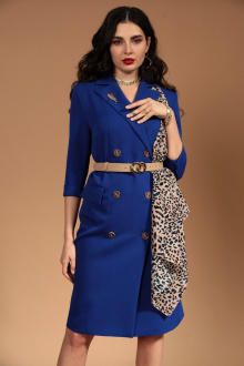 платье Твой имидж 1454 ультрамарин