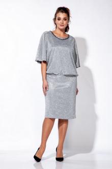 платье Belinga 1161 серебро