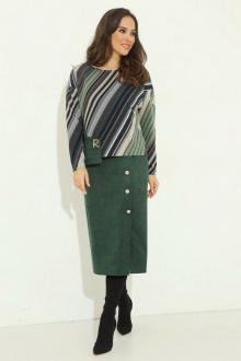 платье Магия моды 2031 зеленый