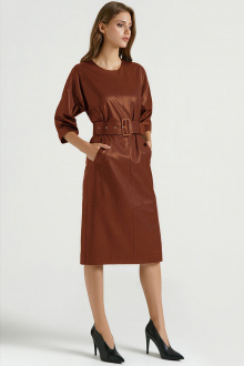 платье Vladini DR0312 рыжий