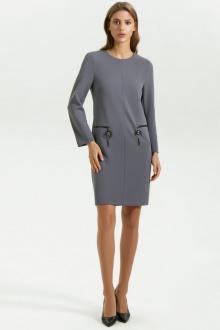 платье Vladini DR0358 серый