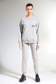 брюки,  свитшот HIT 3080 светло-серый