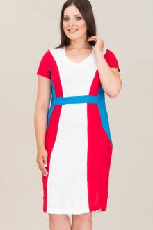 Ружана 160-2 белый/красный/голубой