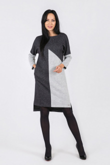 Daloria 1472 чёрный-серый