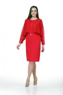 платье Мишель стиль 757 красный