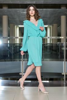 платье AMORI 9386 бирюза