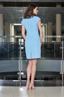 Платье AMORI 9377 голубой