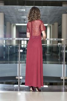платье AMORI 9373 бордо