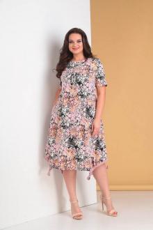 платье Moda Versal П1958 розовый