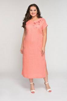 платье Luana Plus 398 розовый