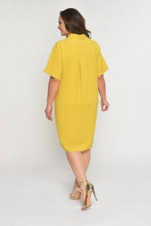 платье Luana Plus 397 горчичный