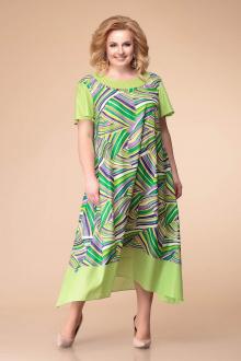 Romanovich Style 1-1790 зелено-фиолетовый_принт