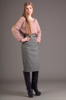юбка AMORI 3004 серый
