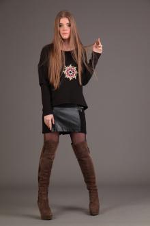 юбка AMORI 3023 черный