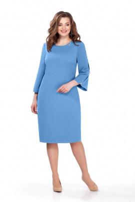 Платье TEZA 161 голубой