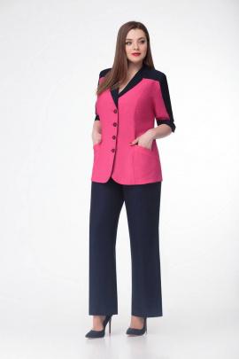 Женский костюм Gold Style 2303 розовый+черный