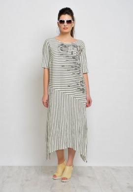 Платье Faufilure С845 олива