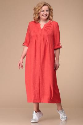 Платье Линия Л Б-1722 коралл