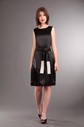 Платье IVA 820 черный