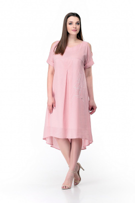 Платье Мишель стиль 777 пудра