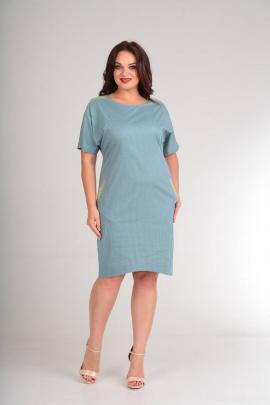 Платье SVT-fashion 448 бирюза