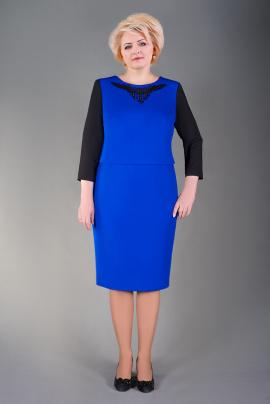 Платье Manklover 659 синий