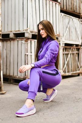 Брюки Rawwwr clothing ВТ004 фиолетовый