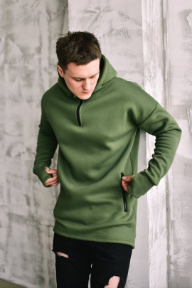 Худи Rawwwr clothing КОЛА051 хаки