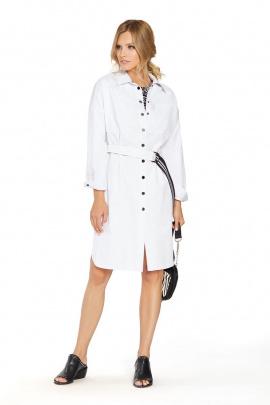 Платье PiRS 756 белый