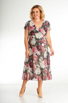 Платье Slaviaelit 428 бордо